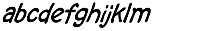 Bryan Talbot Lower Italic Font LOWERCASE
