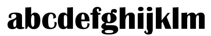 Britannic Bold Font LOWERCASE