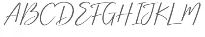 Brightish Font UPPERCASE