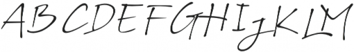 BS Signature otf (400) Font UPPERCASE