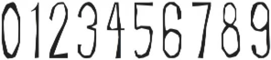 BSD SALEM Regular otf (400) Font OTHER CHARS