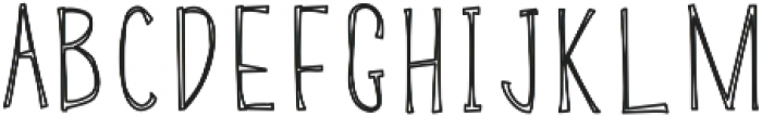 BSD SALEM Regular otf (400) Font UPPERCASE