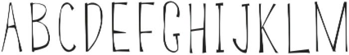 BSD SALEM Regular otf (400) Font LOWERCASE
