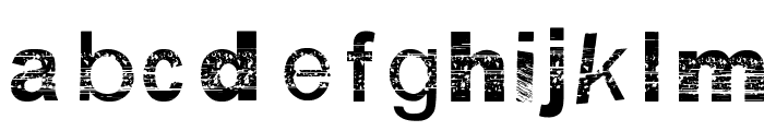BSB DF 50 Font LOWERCASE