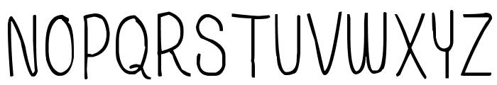 BSD I Believe In Love Font UPPERCASE