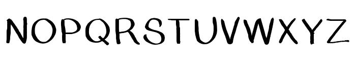 BSDCambridge Font UPPERCASE