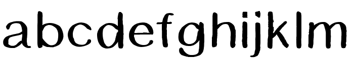 BSDCambridge Font LOWERCASE