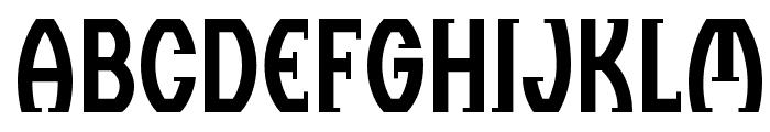 BC Thomas & Ruhller Regular Font LOWERCASE