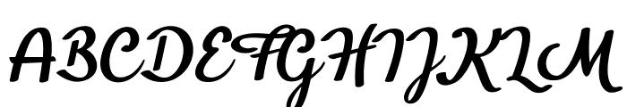 BTX-Benafor Regular Font UPPERCASE