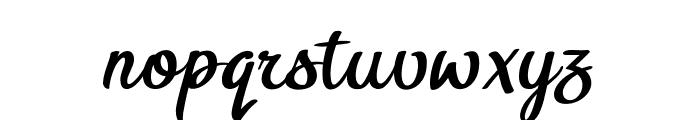 BTX-Benafor Regular Font LOWERCASE