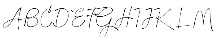 BTX-GILTHER Font UPPERCASE