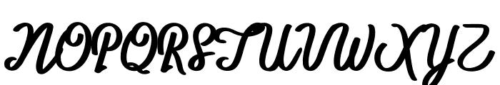 BTX-ITTALLY Regular Font UPPERCASE