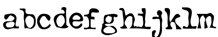 btd BeezWax Font LOWERCASE