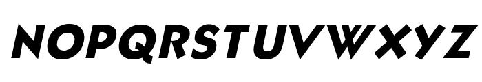 Bully Italic Font UPPERCASE