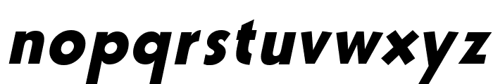 Bully Italic Font LOWERCASE