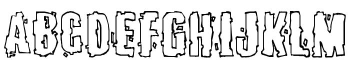 Burlesque Font UPPERCASE