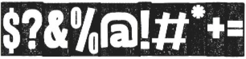 BUKA otf (400) Font OTHER CHARS