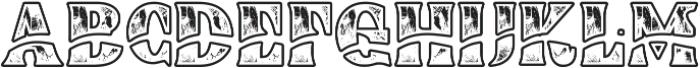 Buadaze otf (400) Font UPPERCASE