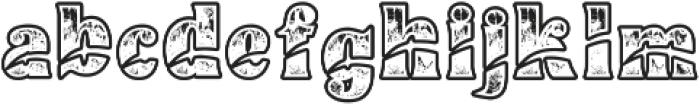 Buadaze otf (400) Font LOWERCASE
