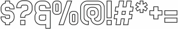 Buana otf (400) Font OTHER CHARS