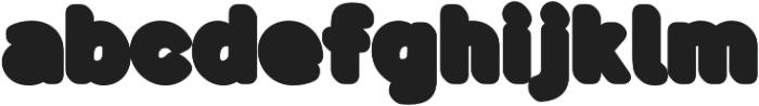 Buba Shadow otf (400) Font LOWERCASE