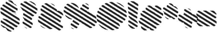 Buba StripesEroded otf (400) Font OTHER CHARS