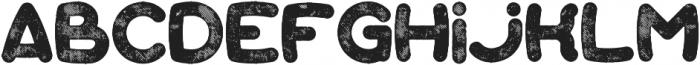 Bubble Aged otf (400) Font LOWERCASE