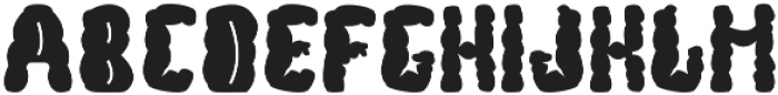 Bubble font otf (400) Font UPPERCASE