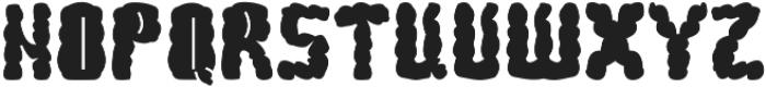 Bubble font otf (400) Font LOWERCASE