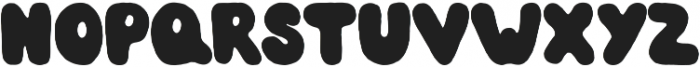 BubbleGum otf (400) Font UPPERCASE