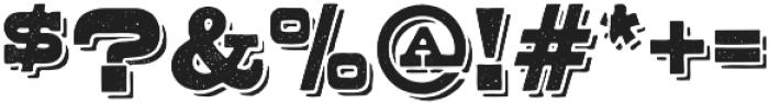 Buckboard Alternate Regular otf (400) Font OTHER CHARS