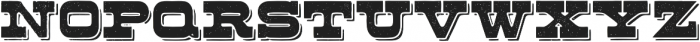 Buckboard Alternate Regular otf (400) Font UPPERCASE