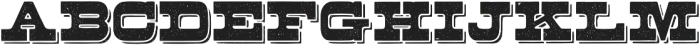 Buckboard Alternate Regular otf (400) Font LOWERCASE