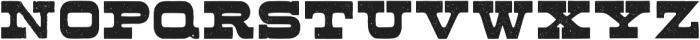 Buckboard Regular otf (400) Font UPPERCASE