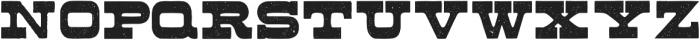 Buckboard Regular otf (400) Font LOWERCASE