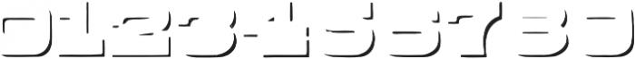 Buckboard Shadow Regular otf (400) Font OTHER CHARS