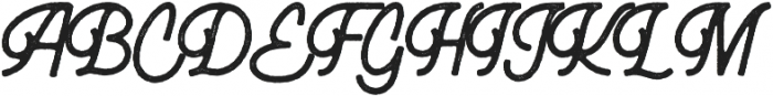 Bucks otf (400) Font UPPERCASE
