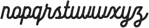 Bucks otf (400) Font LOWERCASE