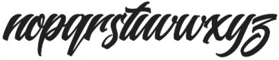 Buckskin Script Regular otf (400) Font LOWERCASE