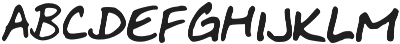 BuenosAires otf (400) Font LOWERCASE
