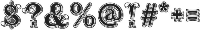 Buffalo Bill Regular otf (400) Font OTHER CHARS