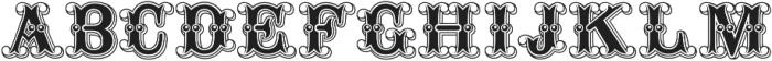 Buffalo Bill Regular otf (400) Font UPPERCASE