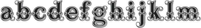 Buffalo Bill Regular otf (400) Font LOWERCASE
