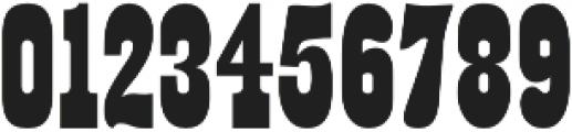 Buffalo Western Regular otf (400) Font OTHER CHARS
