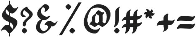 Bugheds otf (400) Font OTHER CHARS