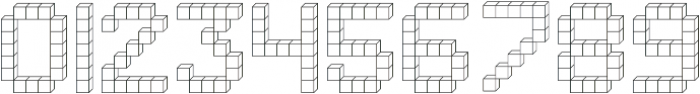 Building Blocks ttf (400) Font OTHER CHARS