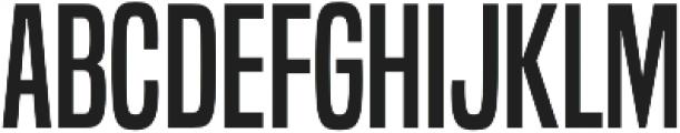 Built Regular otf (400) Font UPPERCASE