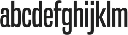 Built Regular otf (400) Font LOWERCASE