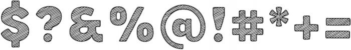 Buket Fat Sketch1 otf (800) Font OTHER CHARS