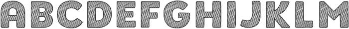 Buket Fat Sketch1 otf (800) Font LOWERCASE